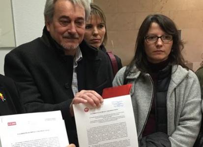 UGT y CCOO registran la convocatoria de huelga general para el 8 de marzo