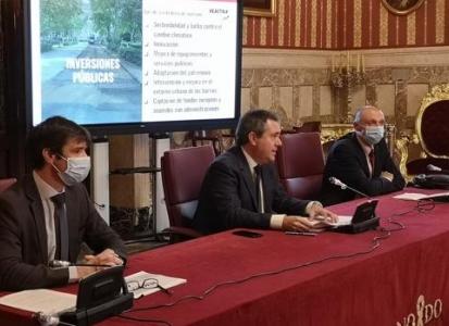 Emasesa anuncia inversiones de más de 250 millones en obras en Sevilla capital los próximos tres años
